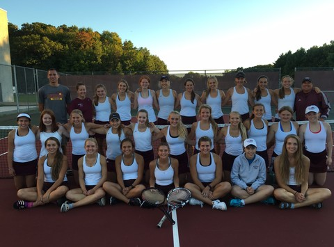 community improvement projects fundraising - Menomonie Tennis Team