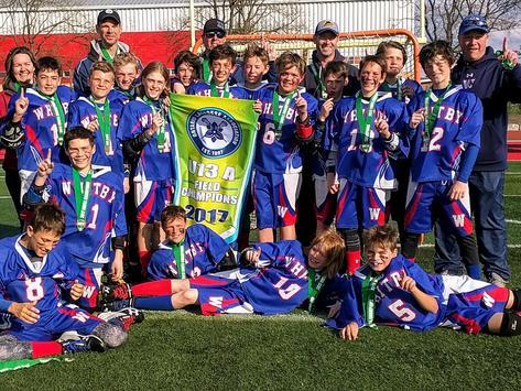lacrosse fundraising - Whitby Warriors - PeeWee 1 Lacrosse 2017